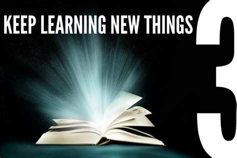 keep learning new things keep learning new things