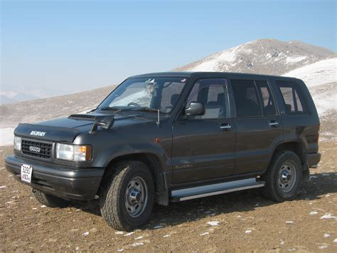 how make cars 1995 isuzu trooper parking system isuzu trooper 3 0 d lwb 1995