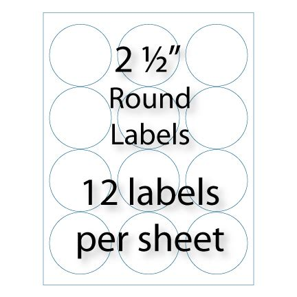 free templates for avery round labels free avery template for microsoft word round label 5294