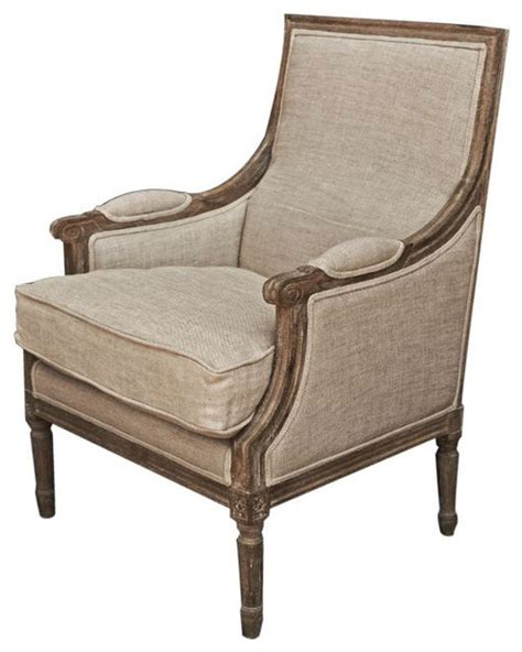 Arm Chairs by Light Burnt Oak Vintage Arm Chair Traditional