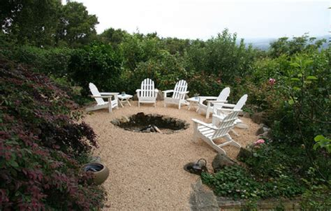 how to make a gravel patio pea gravel patio area with naturalistic sunken pit pea gravel patio crushed gravel patio