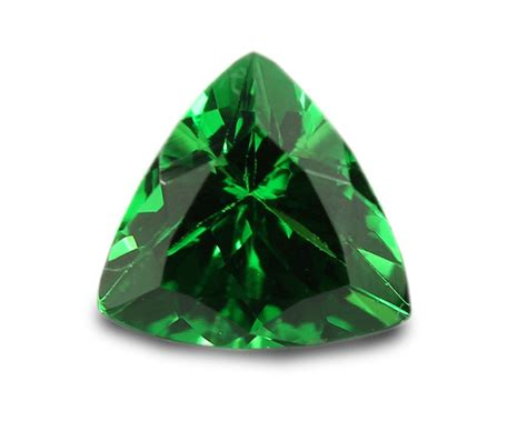 0 53 carats tsavorite gemstone trilliant ebay