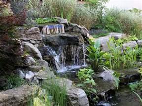 jardin zen chute d eau et cascades amenagement