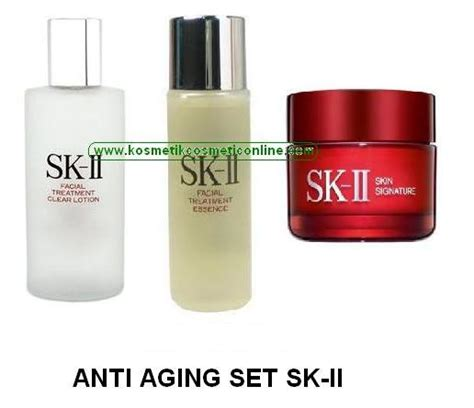 Sk Ii Kosmetik penuaan dini anti aging mencegah penuaan kosmetik cantik cosmetic brand cosmetic