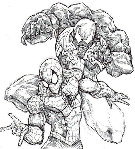 Vs Venom Coloring Pages Spiderman Vs Venom Coloring Pages Coloring Home by Vs Venom Coloring Pages