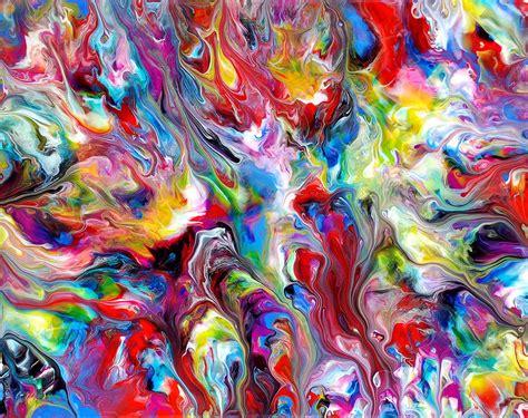 panting at chadwick artist abstract