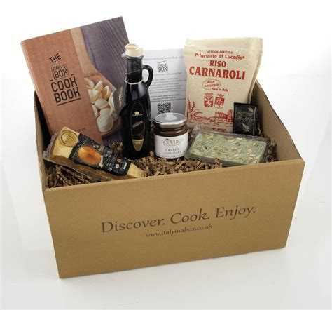Food Boxes Delivered To Your Door by New Food Delivery Box Italy In A Box Delivers