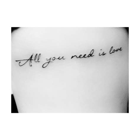 all you need is love tattoo design all you need is tattoos