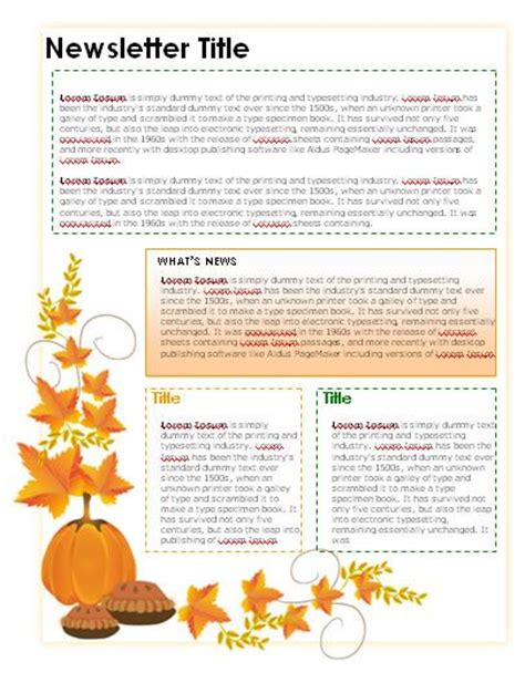newsletter templates teacher newsletter templates and