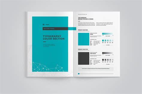 Brand Manual Corporate Identity Template 67908 Brand Identity Manual Template
