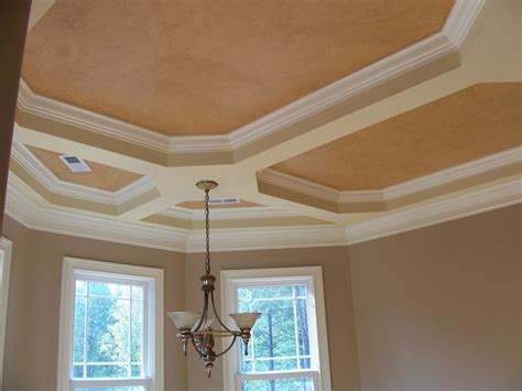 home design tray ceiling ideas on tray ceilings traditional textured ceiling paint designs