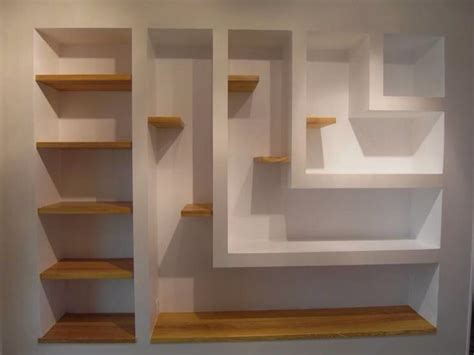 libreria  muro cartongesso  legno design libreria