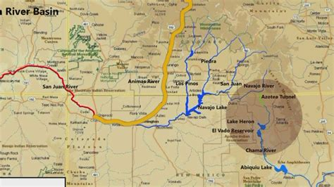 animas river map contamination in animas river becomes declaration of emergency krqe news 13
