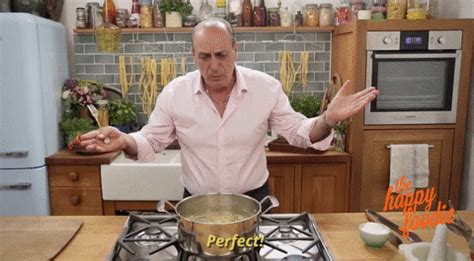 cooking gif 8 signs you grew up in an italian family