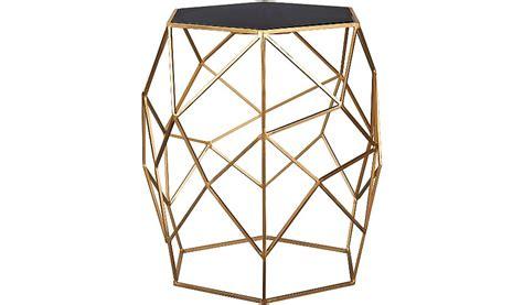 geometric glass coffee table george home glass top geometric side table home garden