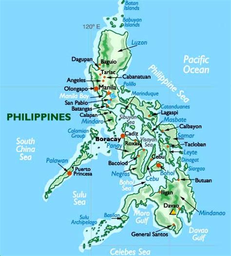 map philippines satellite philippines map and philippines satellite images