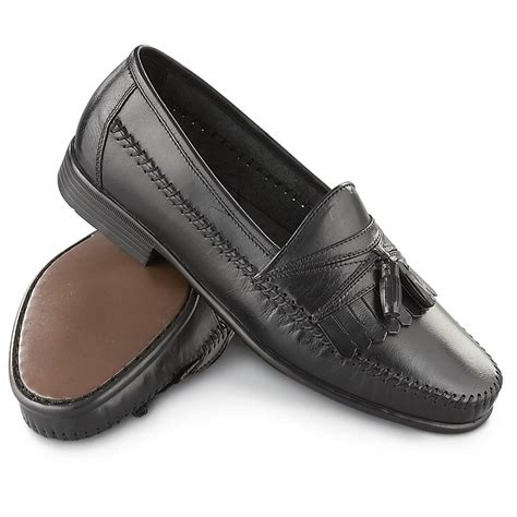 mens hush puppies loafers s hush puppies 174 napoli ii loafers black 189450