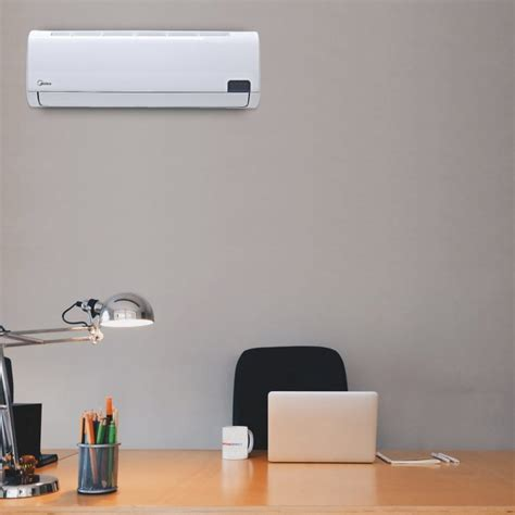 18000 btu wall air conditioner with heat midea lhwms18 18000 btu luna high wall mounted inverter