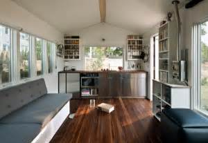 Micro Homes Interior by Man Builds Modern 210 Sq Ft Tiny Home Minim Home