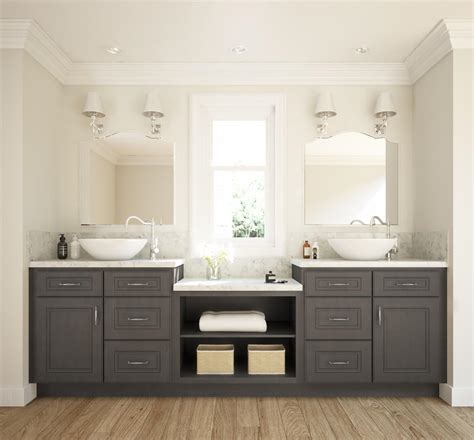 ready to assemble bathroom vanities glazed grey ready to assemble bathroom vanities