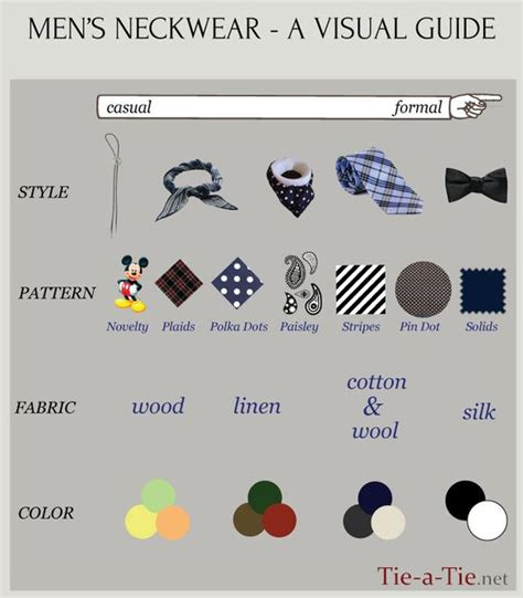 how formal are different types of s ties this quot tie a