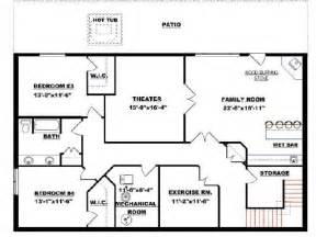 walkout bungalow floor plans pin by jessie d 252 x on home pinterest