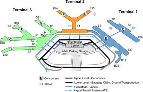 o hare terminal map image gallery ord airport layout