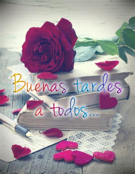 imagenes de rosas sobre libros buenas tardes im 225 genes graciosas para saludar