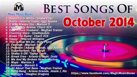 ahok youtube oktober 2014 hot songs of october 2014 best songs of octorber 2014