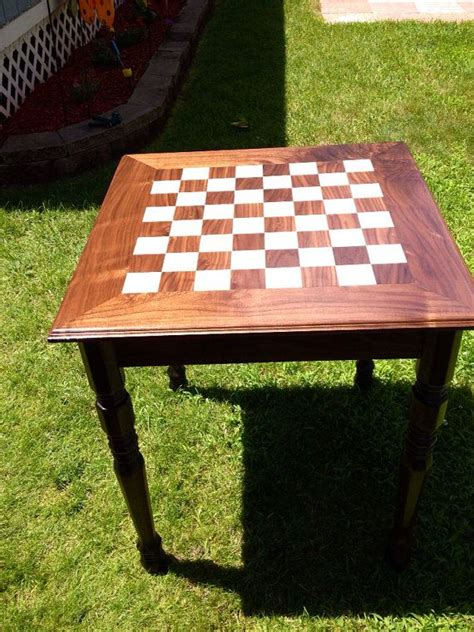custom board table 25 best ideas about chess table on