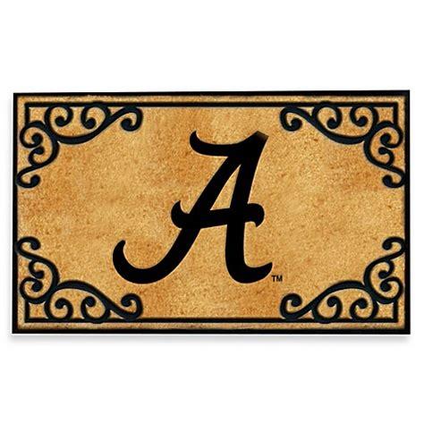 Alabama Door Mat - of alabama coir fiber door mat bed bath beyond