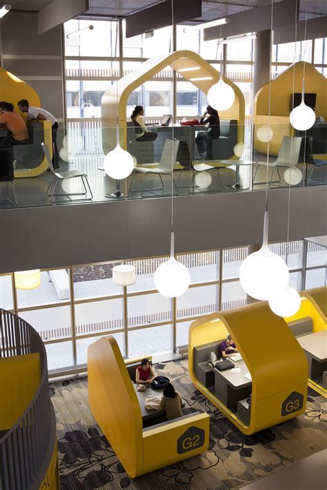 space seating great design yellow hubs at coventry university