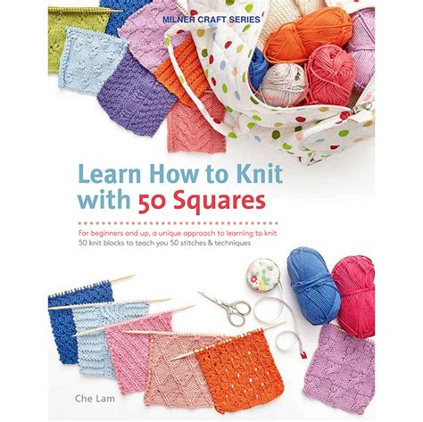 learn how to knit with 50 squares innovations