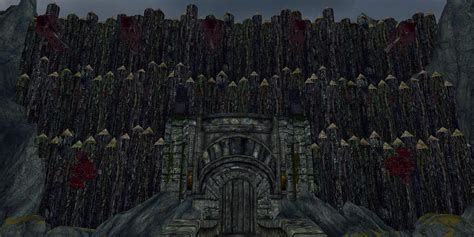siege fortress siege of morghak fortress at skyrim nexus mods and community