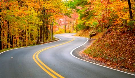 the most scenic drives in america the 6 most scenic autumn drives in america