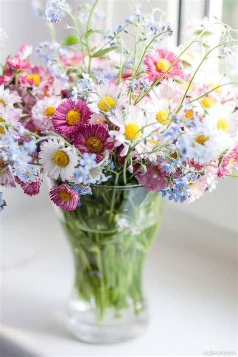 wildflower arrangements wild flower summer bouquet flowers and bouquets pinterest