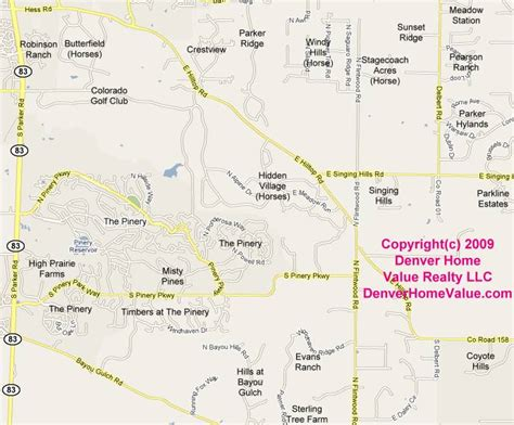 map of northeast colorado colorado residential subdivisions map and list