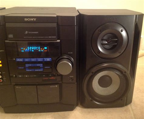 mini hi fi systems with cassette deck sony mhc g20 3cd changer dual cassette deck radio gamesync
