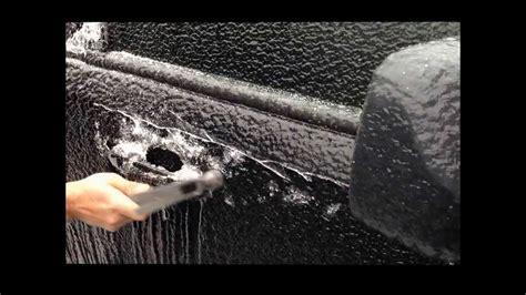 open frozen car doors