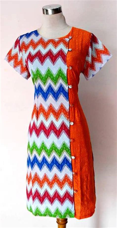 Dress Batik 01 dress batik kimono saphire emboss 01 baju kerja batik