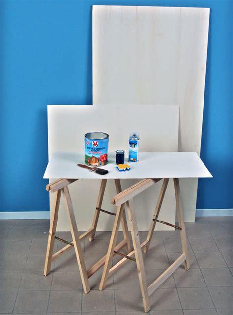come costruire un tavolo in legno fai da te tavolo con cavalletti fai da te bricoportale fai da te