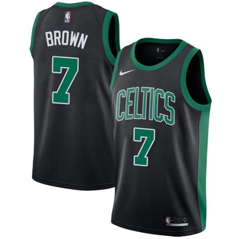 Nike Boston Brown youth jaylen brown boston celtics nike swingman black