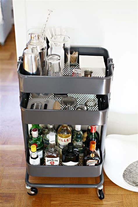 ikea raskog cart 36 creative ways to use the r 197 skog ikea kitchen cart
