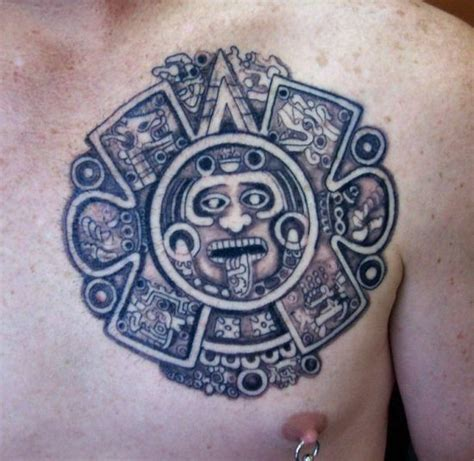 aztec calendar tattoo 50 unique aztec tattoos for amazing ideas