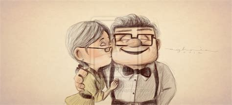 imagenes de up carl y ellie up carl and ellie quotes quotesgram