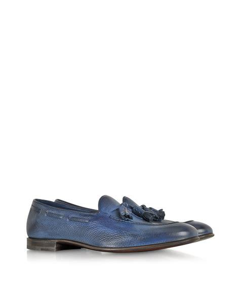 fratelli rossetti loafers fratelli rossetti summer brera cobalt blue loafer in blue