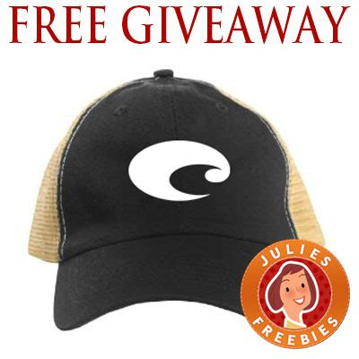 free costa mesh hat giveaway julie s freebies - Free Hat Giveaway