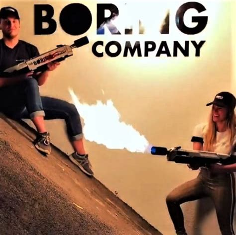 Your Escape From The Boring Black Carrier by Boring Company Flamethrower Upscout Gifts And Gear For