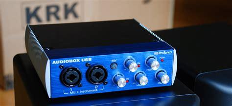 Presonus Audio Box Usb how to upgrade to studio monitor speakers paulstamatiou