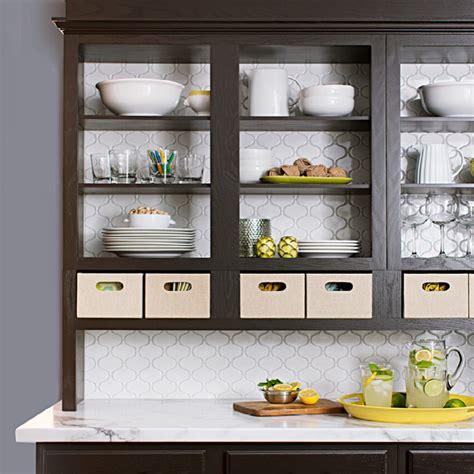 open shelving cabinets stylish kitchen updates